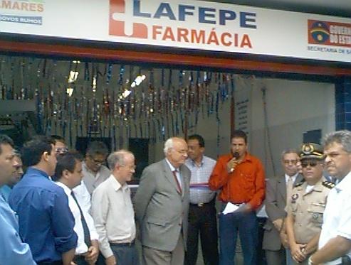 Palmares: Farmácia LAFEPE fechou porque Gestão Municipal solicitou desocupação do local de funcionamento,  Diz Diretor.