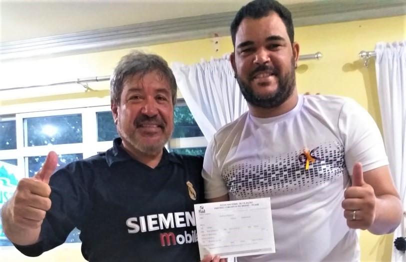 Palmares: Professor Neto filia-se ao PCdoB e poderá concorrer a uma vaga no Legislativo