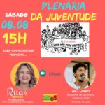 Rita Nascimento realiza Plenária Virtual com a Juventude