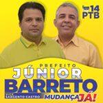 PTB homologa a Candidatura de Júnior Barreto com Sargento Castro na Vice