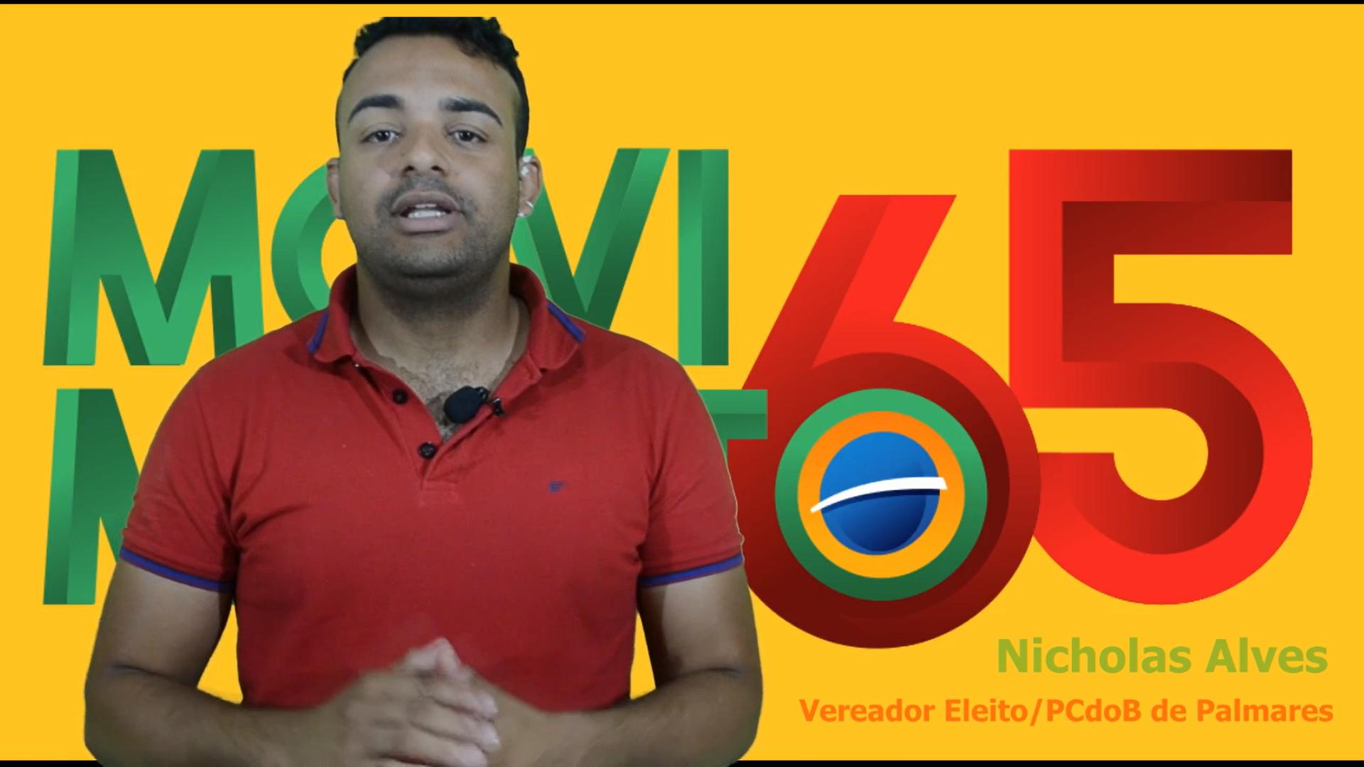 Palmares: Vereador eleito agradece a companheiros(as) de Chapa