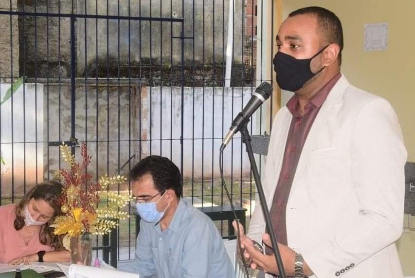 Palmares: Prof. Danilo Santos é empossado como Conselheiro Municipal de Educação.