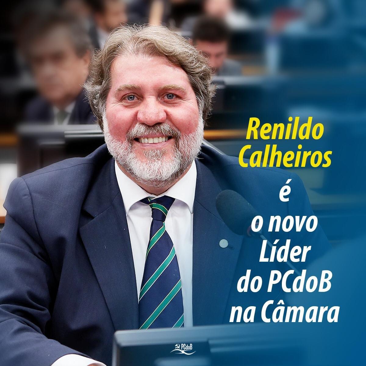 Renildo é novo líder do PCdoB na Câmara em 2021