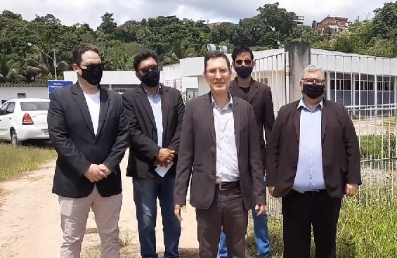 Comissão da OAB denuncia abandono do IML de Palmares. Veja Vídeo…