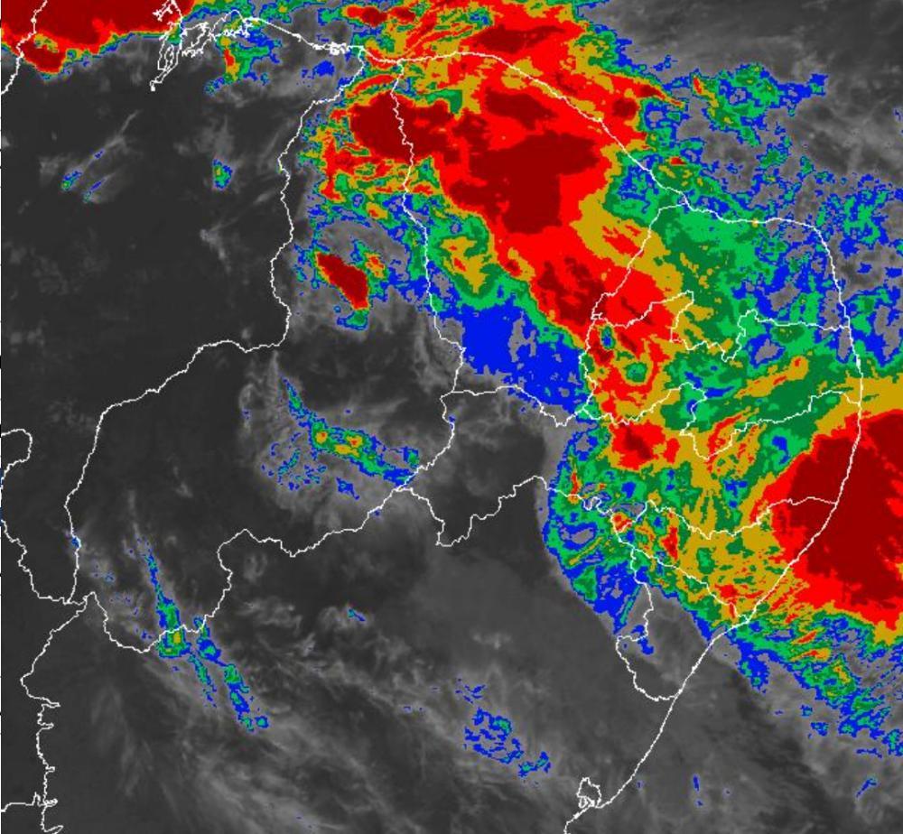 Choveu 49 milímetros nas últimas 24h em Palmares