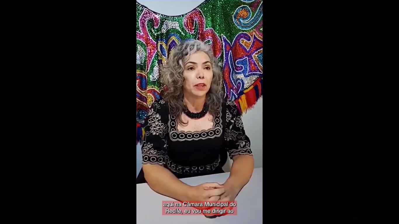 Vereadora do Recife rebate comentários do Coronel Souza Filho. Veja vídeo…