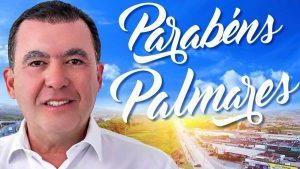 Ex-prefeito Altair saúda o povo de Palmares pelos 142 anos de Emancipação Política