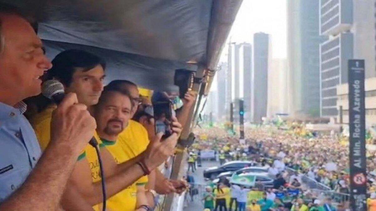 """""""Eu nunca serei preso!"""", afirma Bolsonaro em discurso na Paulista"""