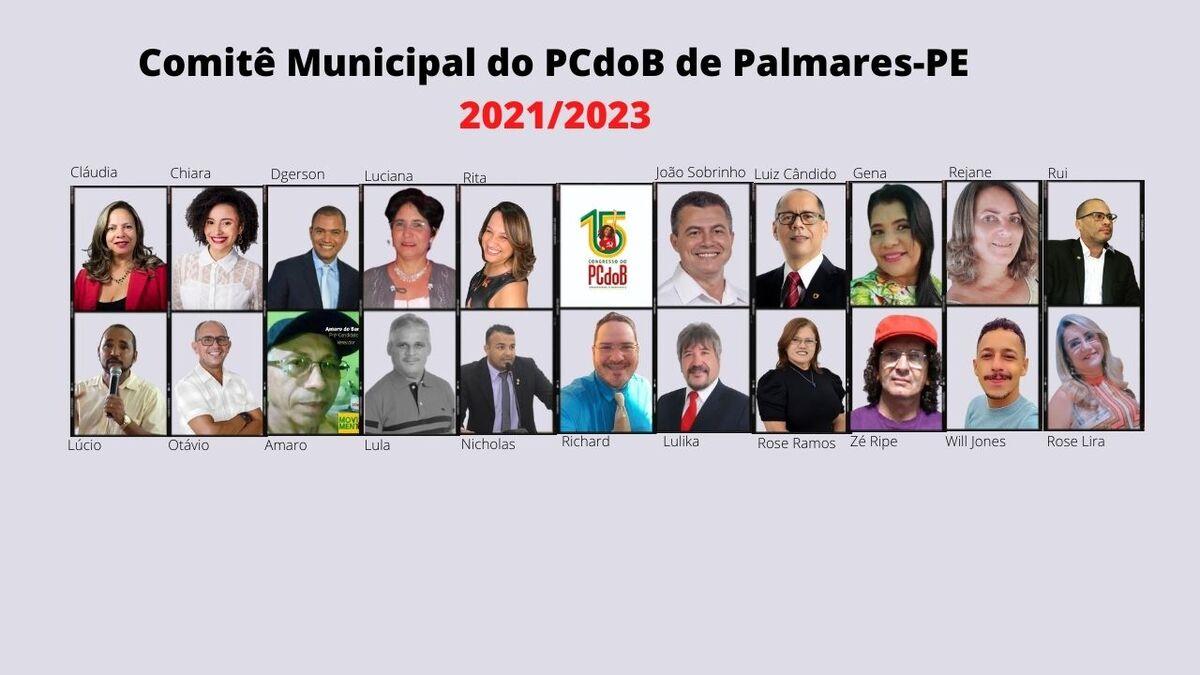 PCdoB de Palmares elege novo Comitê Municipal
